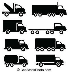 シルエット, トラック
