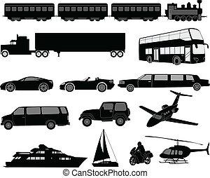 シルエット, 交通機関
