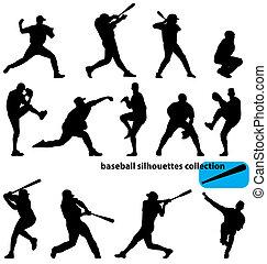 シルエット, 野球, コレクション