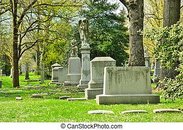 シンシナチ, あった, 州, 二番目に, 合併した, マーカー, 春, 1845., 木立ち, オハイオ州, 墓地, 歴史的, 最も大きい, 墓, 確立された, usa., 記念
