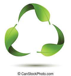 シンボルをリサイクルしなさい, 葉