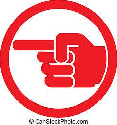 シンボル, とんびが指さす