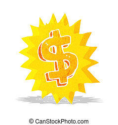 シンボル, ドル, 漫画