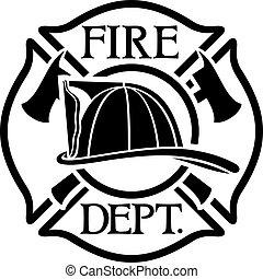 シンボル, 交差点, ∥あるいは∥, マルタ人, 消防士, 部門, 火