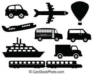 シンボル, 交通機関