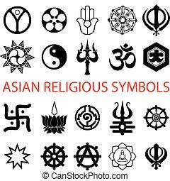 シンボル, 宗教, 様々