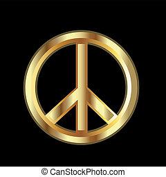 シンボル, 平和, 金