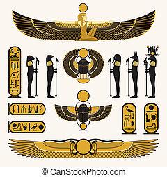 シンボル, 装飾, エジプト人