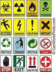 シンボル, 警告, 有用