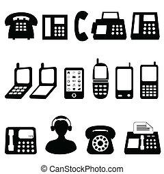 シンボル, 電話