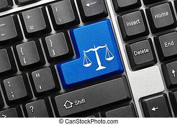 シンボル, -, key), キーボード, 概念, (blue, 法律