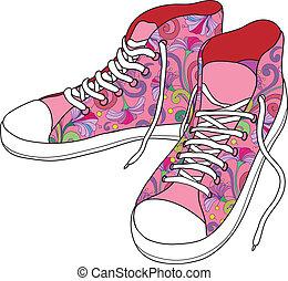ジム, shoes.