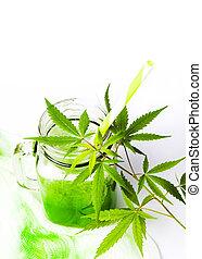 ジュース, 白, 緑, マリファナ