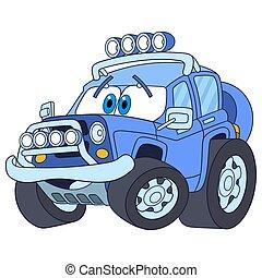 ジープ, 自動車, 漫画
