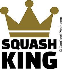 スカッシュ, 王冠, 王