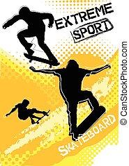 スケートボード, スポーツ, グランジ