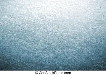 スケート公園, 氷