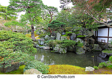 スタイル, 庭の日本人