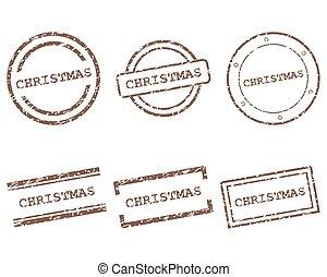 スタンプ, クリスマス