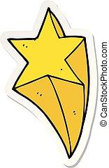 ステッカー, 撃つ 星, 漫画