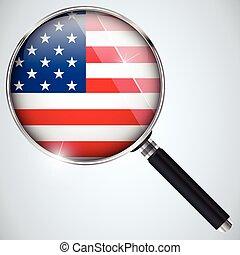 スパイ, usa政府, 国, プログラム, nsa