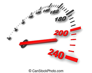 スピード, メートル