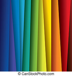 スペクトル, ∥あるいは∥, 色, カラフルである, シート, graphic., 抽象的, ペーパー, (backdrop), 虹, 背景, イラスト, -, ベクトル, ∥含んでいる∥, これ