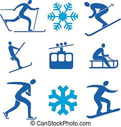 スポーツアイコン, 冬