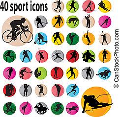 スポーツ, アイコン