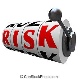 スロット, 単語, 危険, 確率, -, 機械, チャンス, ギャンブル, 車輪