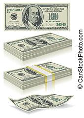 セット, ドル, 銀行券