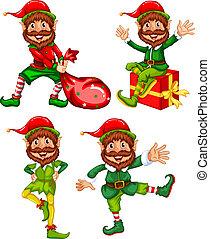 セット, 妖精, クリスマス