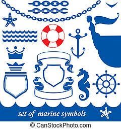 セット, 海洋, 要素