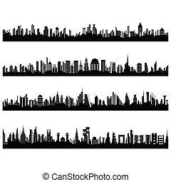 セット, 都市の景観