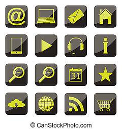 セット, apps, アイコン