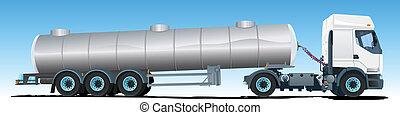 セミトレーラー, タンカー トラック