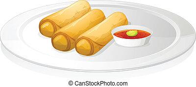 ソース, 回転しなさい, bread