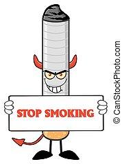 タバコ, 悪魔, 保有物, 印