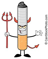 タバコ, trident, 悪魔, 保有物