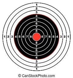 ターゲット, ライフル銃