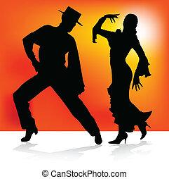 ダンス, フラメンコ, 2, スペイン語