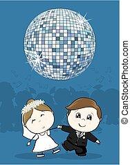 ダンス, 結婚式, 最初に