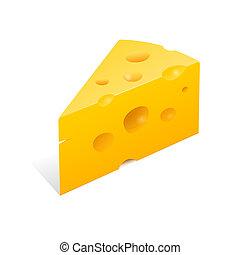 チーズ, イラスト