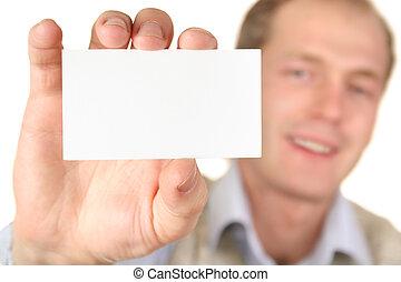 テキスト, カード, 人