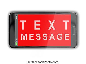 テキスト, 概念, メッセージ