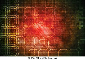 テクニカル, 赤い背景