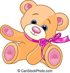 テディ, 提示, 熊