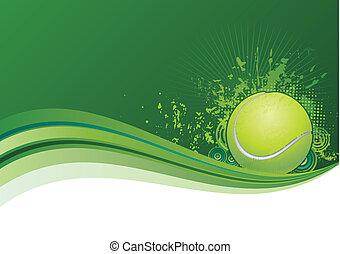 テニス, 背景
