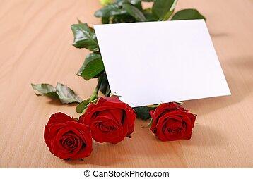 テーブル, メッセージ, 愛