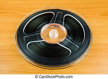 テープ, 巻き枠